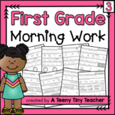First Grade Morning Work - Distance Learning Part 3