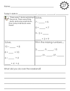 Daily MAP math review