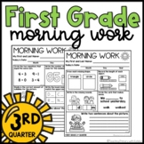 First Grade Morning Work   Worksheets   Spiral Review   Th
