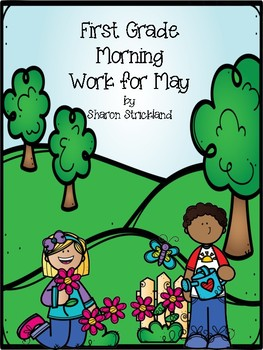 First Grade Morning Work for May