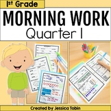 First Grade Morning Work- 1st Quarter