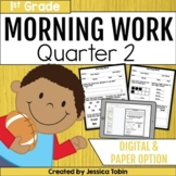First Grade Morning Work- 2nd Quarter