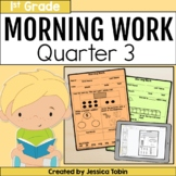 First Grade Morning Work- 3rd Quarter