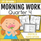First Grade Morning Work- 4th Quarter