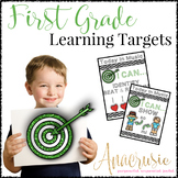 First Grade Music Learning Targets - I Can Statements for