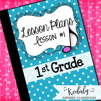 First Grade Music Lesson Plan {Day 1}