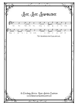 First Grade Music Lesson Plan {Day 19}