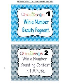 First Grade Mystery Math Challenges Quarter 1