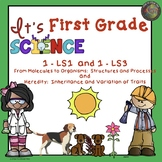 First Grade Life Science  NGSS From Molecules to Organisms