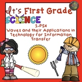 First Grade Light and Sound Energy Unit NGSS 1-PS4  in PDF and TpT Easel Ready