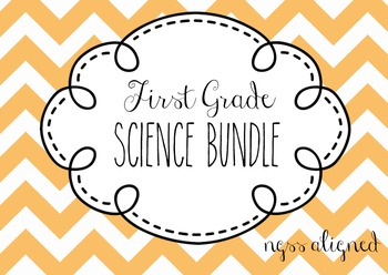 First Grade NGSS Bundle