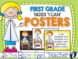 """First Grade NGSS """"I CAN"""" Posters"""