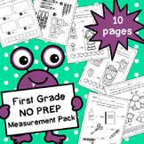 First Grade NO PREP Measurement Pack
