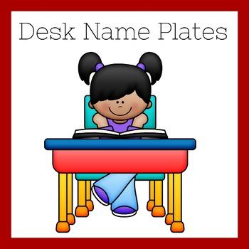 First Grade Name Plates | Desk Name Plates | Desk Name Tags