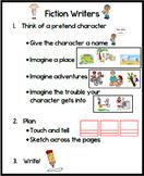 First Grade Fictional Narrative Poster Lucy Calkins