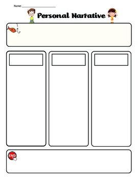 First Grade Narrative Outline