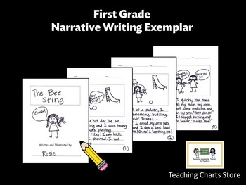First Grade Personal Narrative Writing Exemplar (Lucy Calkins Inspired)
