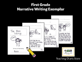 First Grade Personal Narrative Writing Exemplar (Lucy Calk