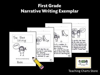 First Grade Narrative Writing Exemplar (Lucy Calkins Inspired)