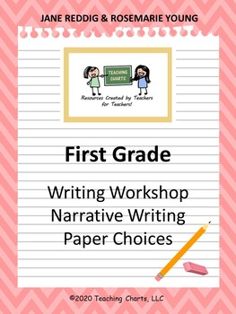 First Grade Personal Narrative Writing Paper (Lucy Calkins