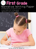 First Grade Narrative Writing Paper Pack {Lucy Calkins Inspired}