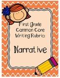 First Grade Narrative Writing Rubric