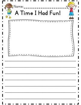 First Grade Narrative Writing Unit (Common Core Aligned)