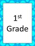 First Grade National Art Standards