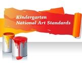 Kindergarten National Core Art Standards Assessment Checklists