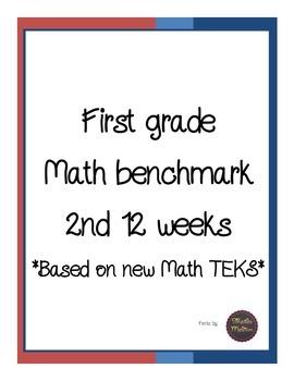 First Grade New Math TEKS Benchmark 2nd 12 weeks