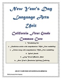 First Grade New Year's Day Unit - Common Core