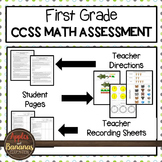 Test Prep First Grade Math Review - Common Core Tasks For Each Standard