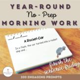 First Grade Yearly No-Prep Morning Work [Bundle]