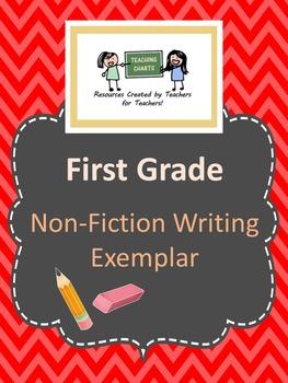 First Grade Non-Fiction Writing Exemplar