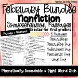 February Bundle of Nonfiction Comprehension Passages