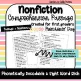 Presidents' Day Nonfiction Comprehension Passage