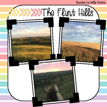 First Grade Nonfiction Comprehension Passage - The Flint Hills Region