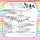 First Grade Nonfiction Comprehension Passage - Yoga