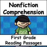 First Grade Nonfiction Reading Passages and Comprehension