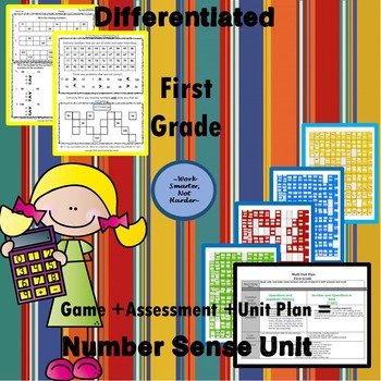 First Grade Number Sense Unit Kit