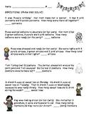 First Grade Number Stories - 3 Addend - CCSS Everyday Math Unit 3