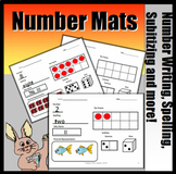 Number Writing, Subitizing, Ten Frames, Tallies and More (First Grade & Kinder)