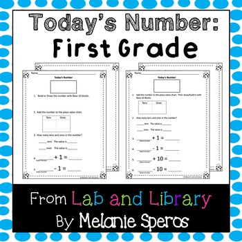 Number of the Day: Daily Routine for Mathematical Fluency in First Grade