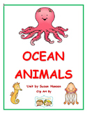 Ocean Animals: Stories and Comprehension Activities