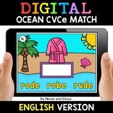 Ocean Digital CVCe Word Work for Google Classroom 2 - Dist