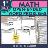 Open Ended Math Questions for 1st Grade
