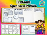 First Grade Open House Portfolio