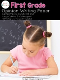 First Grade Opinion Writing Paper Pack {Lucy Calkins Inspired}