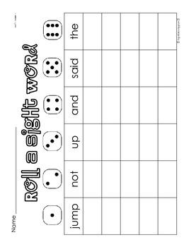 First Grade Paper Practice Activities