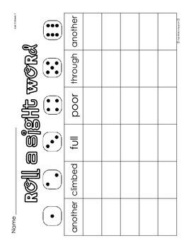 First Grade Paper Practice Activities (5)